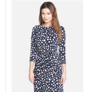 NWT Sheath Long Sleeve Dress- Navy Blue!
